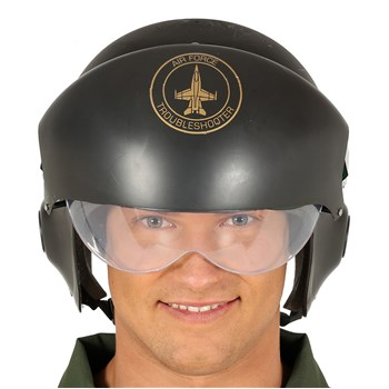 Casco Pilota Air Force PVC