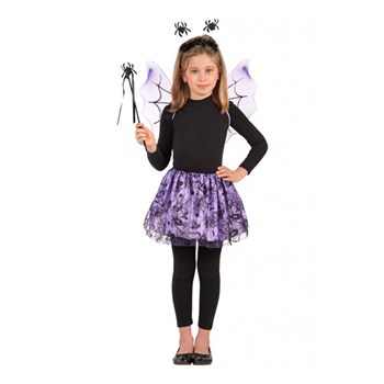 Costume Ragnetto Viola Set pz.4