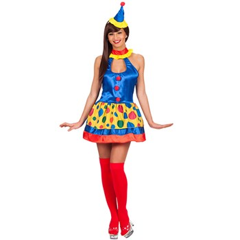 Costume Clown Birillina Donna