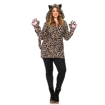 Costume Leoparda Plus